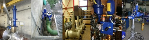 Valve Actuators for steam and gas applications, products of KTC Systemtechnik
